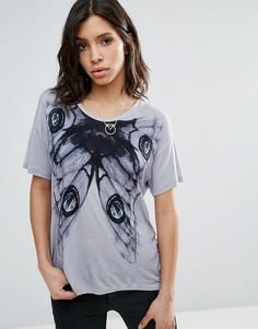 Трикотажная футболка Religion Fatigue - Серый