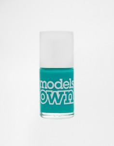 Подчеркивающий загар лак для ногтей Models Own - Желтый