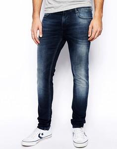 Зауженные джинсы Systvm - Синий