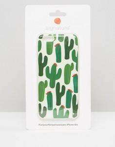 Чехол для Iphone 6 с принтом кактуса Signature - Зеленый