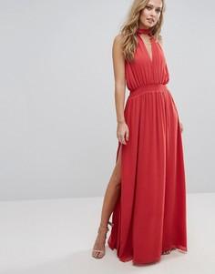 Платье макси The Jetset Diaries Shale - Красный