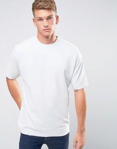 Oversize-футболка с необработанными краями Jack & Jones Core - Зеленый