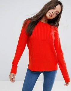 Джемпер крупной вязки ASOS Ultimate - Оранжевый