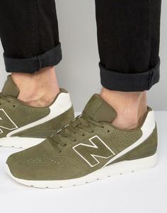 New Balance 70s Running 420 Trainers in Green MRL996DZ - Зеленый