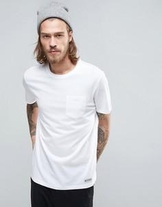 Белая базовая футболка с карманом Element - Белый