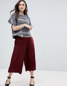 Свободная юбка-брюки d.RA - Красный