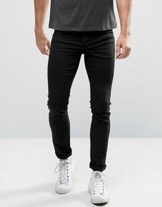Черные эластичные джинсы слим Solid - Серый