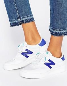 Бело-синие кроссовки New Balance 300 - Мульти