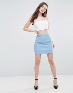 Мини-юбка Glamorous - Синий