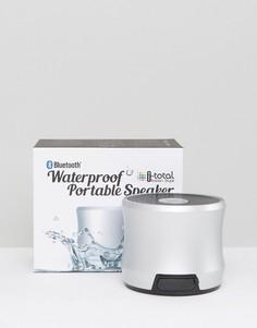 Серебристый водонепроницаемый Bluetooth-динамик - Белый Gifts