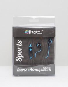 Синие Bluetooth-наушники Sports - Синий Gifts