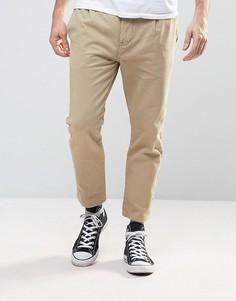 Песочные брюки-карго Rollas Stubs - Бежевый Rollas