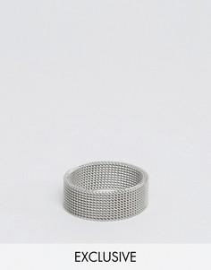 Кольцо Reclaimed Vintage - Серебряный