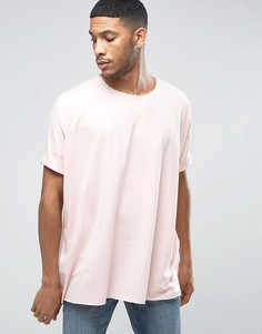 Oversize-футболка Liquor & Poker - Розовый