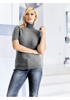 Пуловер с короткими рукавами PATRIZIA DINI