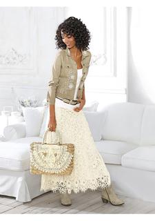 Кружевная юбка Linea Tesini