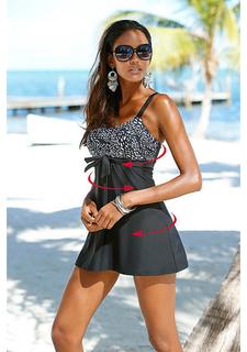 Моделирующее платье-купальник
