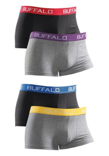 Боксерские трусы, 4 штуки Buffalo