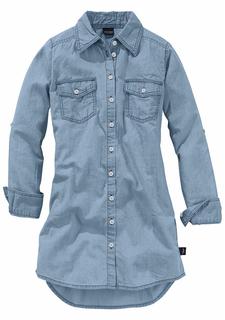 Джинсовое платье-рубашка Arizona