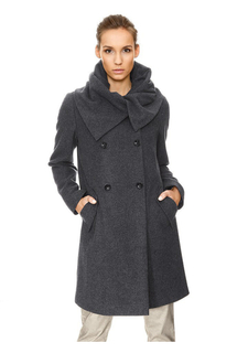 Шерстяное пальто Rick Cardona
