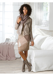 Велюровая куртка Linea Tesini