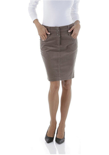 Вельветовая юбка CHEER
