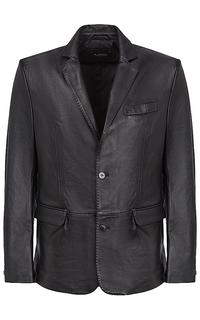 Кожаный пиджак Al Franco