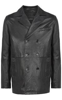 Пальто из натуральной кожи Al Franco