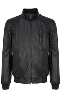 Кожаная куртка-бомбер Al Franco