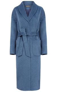 Полушерстяное пальто-халат La Reine Blanche