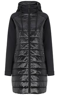 Комбинированное пальто на синтепоне Neohit