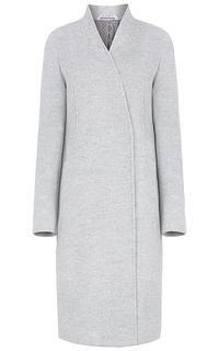 Шерстяное пальто-халат Pompa