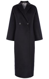 шерстяное удлиненное пальто Pompa