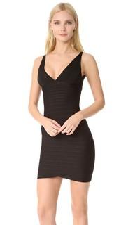 Коктейльное платье из лент Signature Essentials Herve Leger
