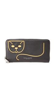Универсальный кошелек Kitty Kat Marc Jacobs