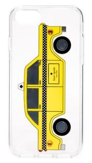 Чехол Taxi для iPhone 7 с камнями Kate Spade New York