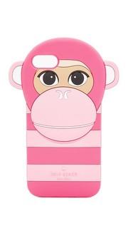 Силиконовый чехол Monkey для iPhone 7 Kate Spade New York
