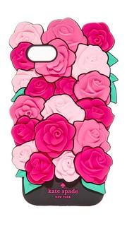 Силиконовый чехол Roses для iPhone 7 Kate Spade New York