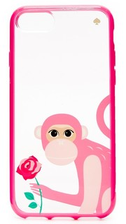 Чехол Monkey With Rose для iPhone 7 Kate Spade New York