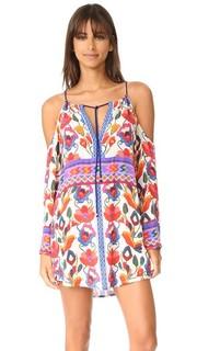 Пляжное платье Antigua с открытыми плечами Nanette Lepore