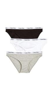 Комплект Carousel из трех трусиков Calvin Klein