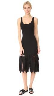 Платье без рукавов Fuzzi