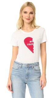 Базовая футболка Best Friends Left Heart Clayton