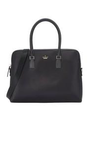 Нейлоновая сумка-портфель для ноутбука с экраном диагональю 15 дюймов Kate Spade New York