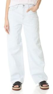 Объемные прямые джинсы Alana Agolde
