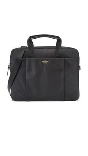 Классическая нейлоновая сумка для ноутбука Kate Spade New York
