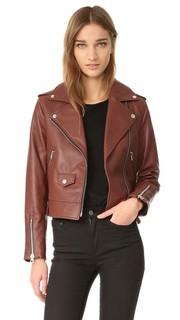 Куртка из гладкой кожи Baya Mackage