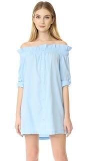 Платье с открытыми плечами Business Class Minkpink