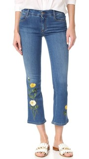 Узкие брюки из денима Stella Mc Cartney