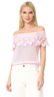 Кружевная блуза с открытыми плечами Temptation Positano
